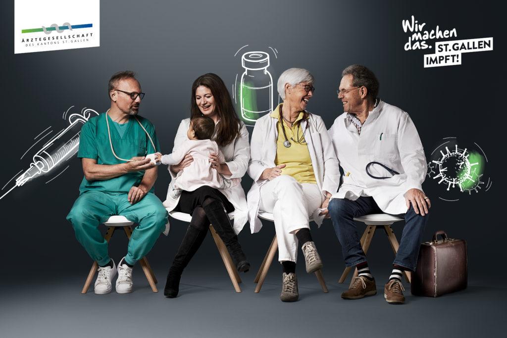 Partner: Ärztegesellschaft des Kantons St. Gallen